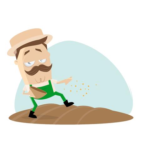 giardiniere alla semina