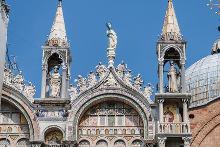 St. Marks dome side view detail in Venice, Italy Stock fotó