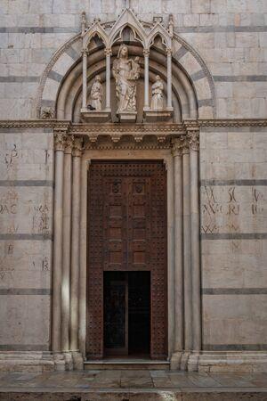 Catholic church San Michele at Borgo in Pisa, Tuscany, Italy 写真素材
