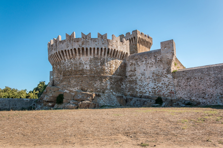 The fortress of Populonia, Tuscany, Italy