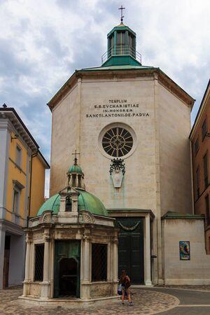 The Chapel Tempietto of Sant'Antonio in Rimini, Italy