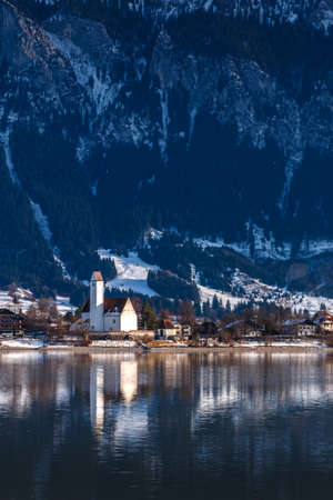 Parish church of St. Maria and Florian on Forggensee