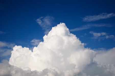 cumulonimbus: Big Cumulonimbus clouds Stock Photo