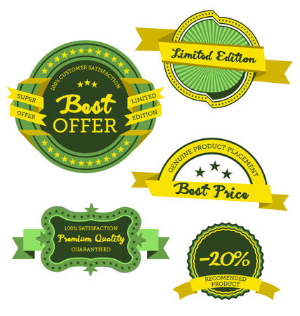 atypical: Collection Of Premium Quality And Best Offer Labels Vector Design