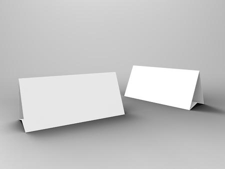 render: Table Tent 3D Render