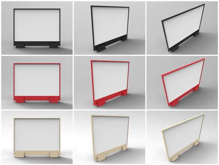 rende: Flyer Display 3D Rende