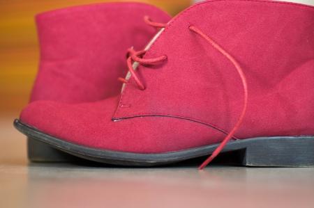 Closeup image of a stylish boot photo