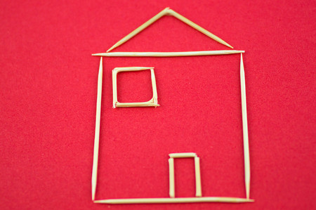 toothpick: House plan made by toothpick