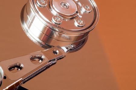 disco duro: Resumen disparo lateral del cabezal de lectura del disco duro y el rotor