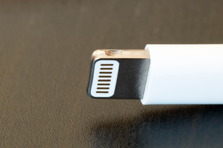 charger: Apple new generation charger plug Stock Photo