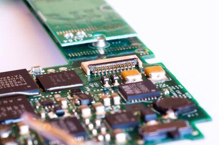 transistor: Conector y el transistor en un circuito
