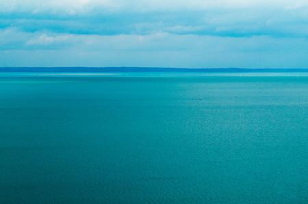 Landscape photo on lake Balton