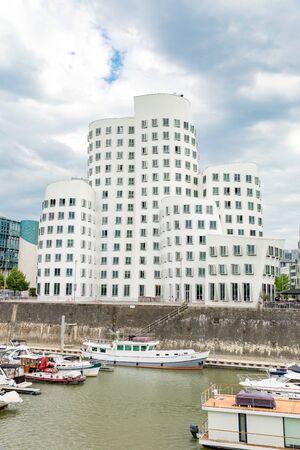 Gehry Buildings in Medienhafen - Dusseldorf, Germany