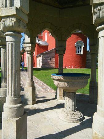 monastery: Monastery Zica, Serbia Stock Photo