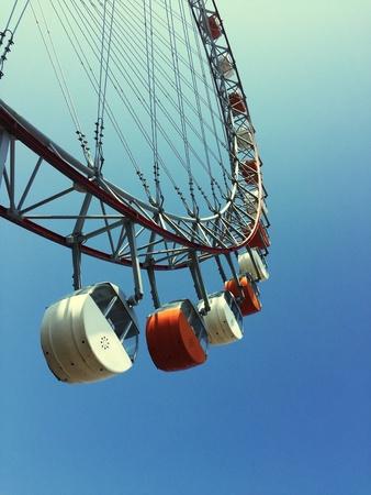 Ferris Wheel low angle view Banco de Imagens