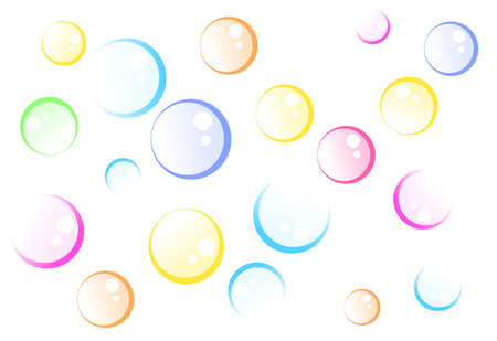 Soap bubbles Illustration