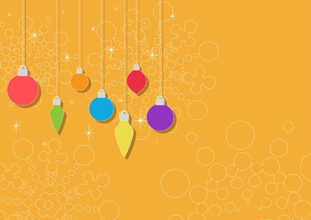 christmas background  elements are grouped  layered vector   Illustration