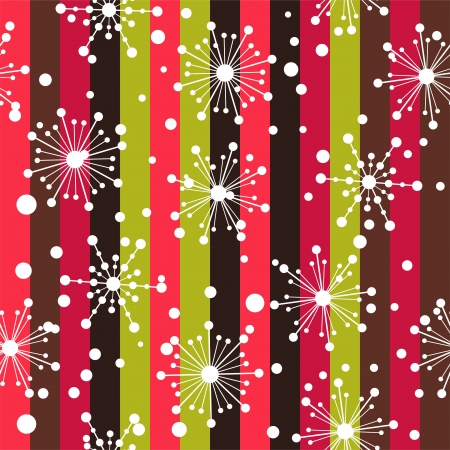 seamless pattern with snowflakes. layered vector for easy manipulation Stock Vector - 17179916