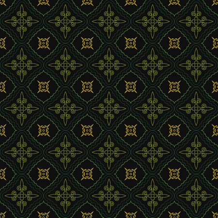 abstract vintage wallpaper with ornaments. seamless background.
