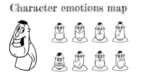 skepticism: Map of emotions.