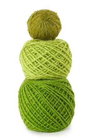 gamma: pensamiento de gamma verde en una fila vertical, aislado