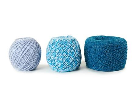 gamma: pensamiento de gamma azul en una fila, aislado Foto de archivo