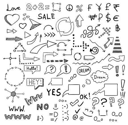 signs and symbols vector set Vector