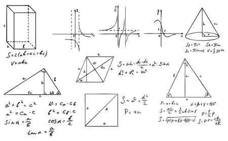 cosine: mathematics and geometry vector set