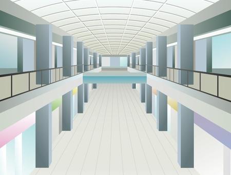 windows in trade center Stock Vector - 10101219