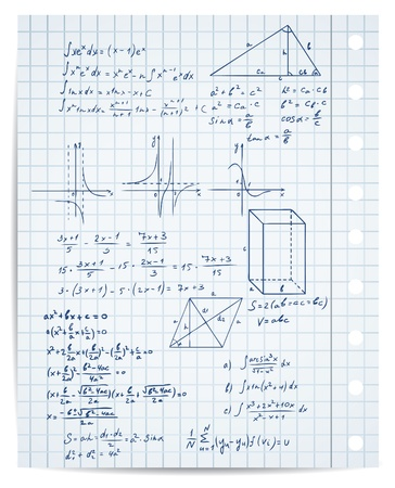 computation: math and geometry on copybook page set