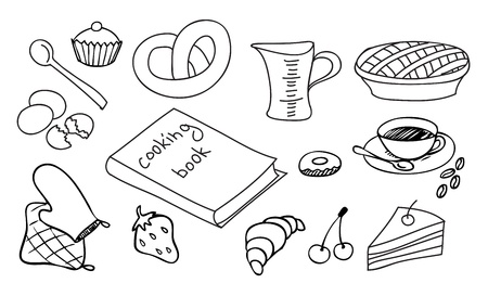 cooking  and baking vector set Stock Vector - 13561161