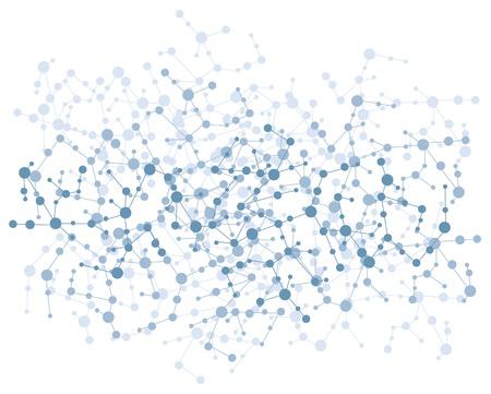 molecula: conexi�n mol�cula de vectores de fondo Vectores