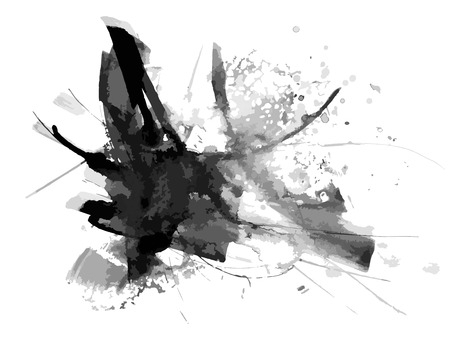 抽象的なインク ペイントの背景
