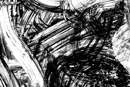dabs: Abstract ink pained background