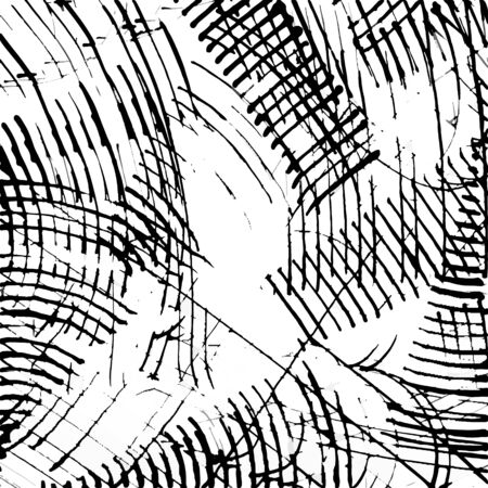 Abstract ink scratch texture