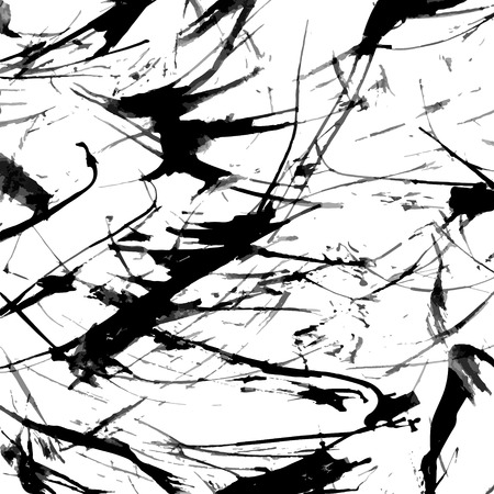 dabs: Abstract ink grunge texture vector Illustration