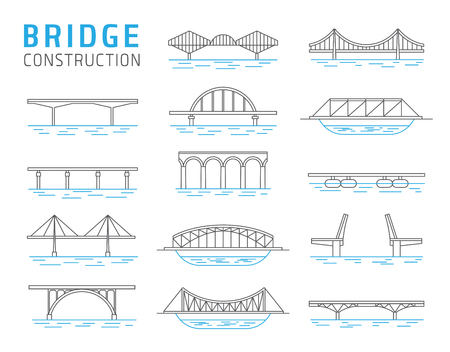 Bridge constructions vector set