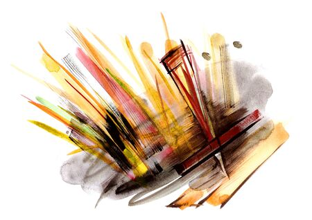 Abstract painting artistic background