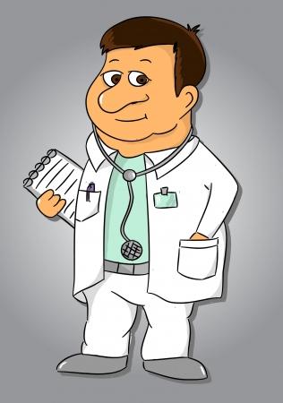 Cartoon doctor  vector Stock Vector - 17400173