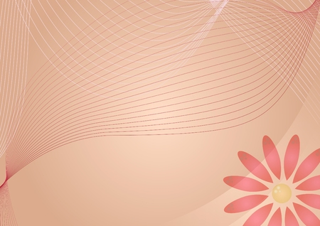 Design with flower  vector