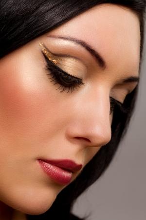 Close-up portrait of beautiful woman Stock Photo - 14485779