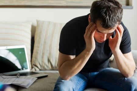 selfemployed: Self-employed man working at home