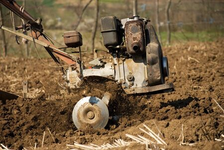 agricultural machinery: Tiller  Agricultural Machinery