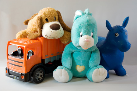 Toys - cheerful family