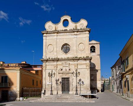 john the baptist: St. John the Baptist Church in Foggia (Italy)