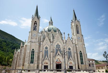 Basilica Sanctuary of Maria Santissima Addolorata in Castelpetroso (Italy)