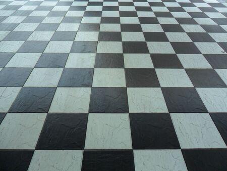 Black and white,square ceramic tile