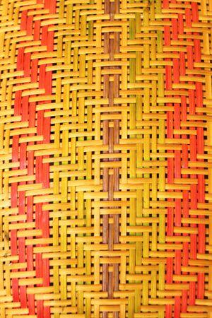 beautiful rattan pattern Stock Photo