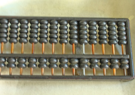 old chinese calculator