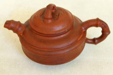 beautiful tea kettle Stock Photo